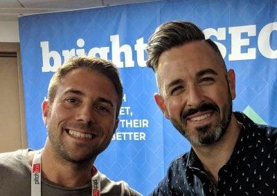 Sam Gooch with Rand Fishkin